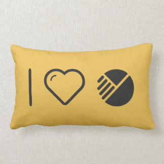 I Heart Modified Things Pillow