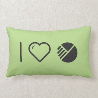 I Heart Modified Things Throw Pillows