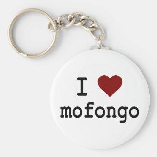 I Heart Mofongo Keychain