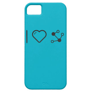 I Heart Molecular Structures iPhone 5 Covers