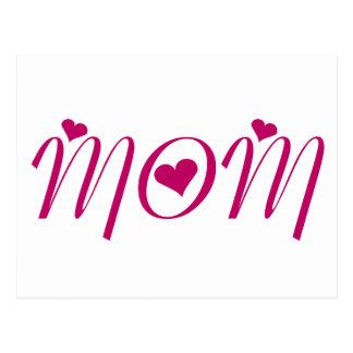 I Heart MOM! by Celeste Sheffey Postcard