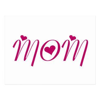 I Heart MOM by Khoncepts Postcard