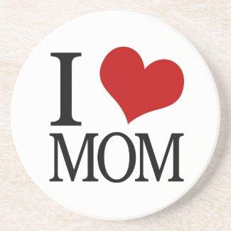 I Heart Mom (I Love Mom) Coaster