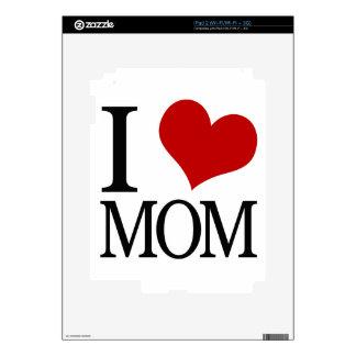 I Heart Mom (I Love Mom) Skin For iPad 2