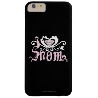 I Heart Mom  Pink Barely There iPhone 6 Plus Case
