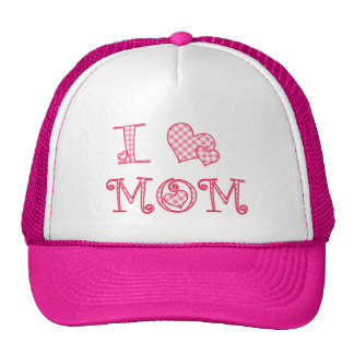 I Heart Mom - Pink Hat