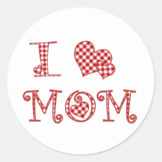 I Heart Mom Sticker