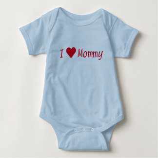 I [Heart] Mommy Blue Bodysuit