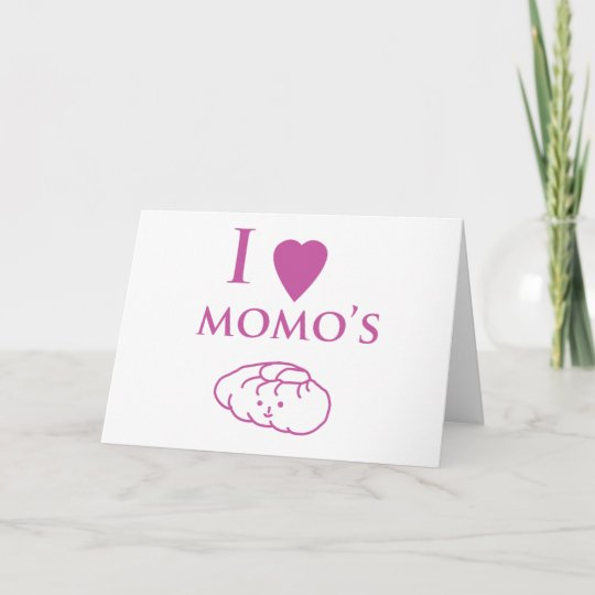 I heart momos losar cards or greeting cards zazzle i heart momos losar cards or greeting cards m4hsunfo