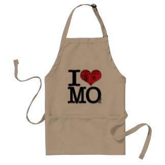 I (heart) MOney Adult Apron