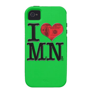 I (heart) MoNey Case-Mate iPhone 4 Case