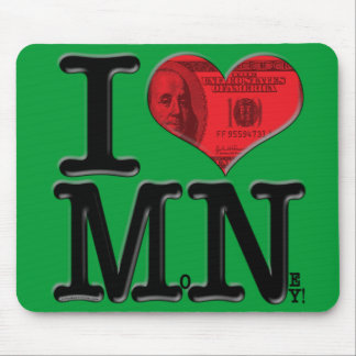 I (heart) MoNey Mouse Pad