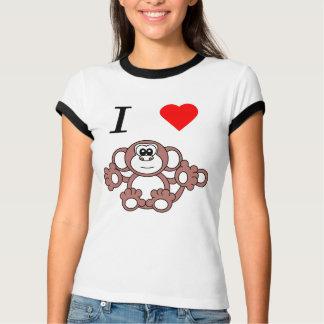i heart monkey T-Shirt