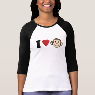 I Heart Monkeys T-Shirt