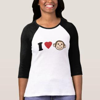 I Heart Monkeys Tshirts