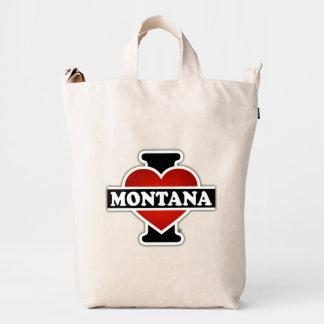 I Heart Montana Duck Bag
