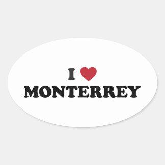 I Heart Monterrey Mexico Stickers