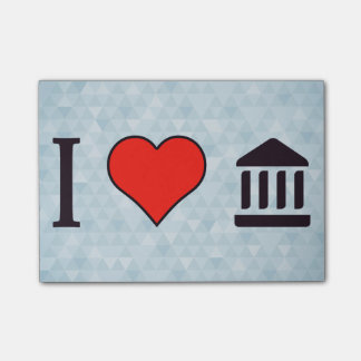 I Heart Monument Temples Post-it Notes