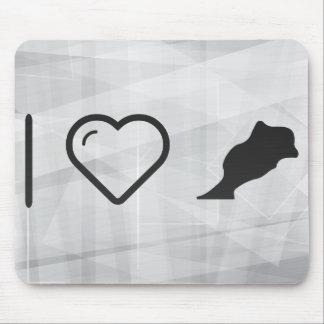I Heart Moroccos Mouse Pad