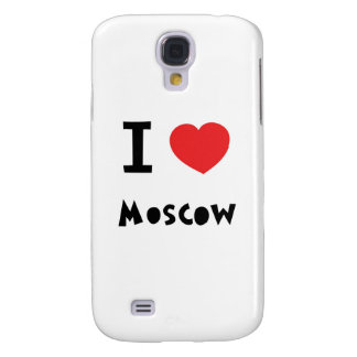 I heart Moscow Galaxy S4 Case