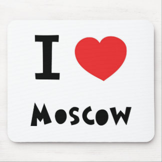I heart Moscow Mouse Pad