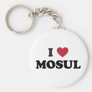 I Heart Mosul Iraq Keychain