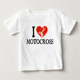 I Heart Motocross Baby T-Shirt