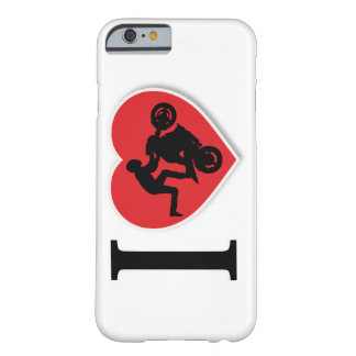 I Heart Motorcycle Wheelies Barely There iPhone 6 Case