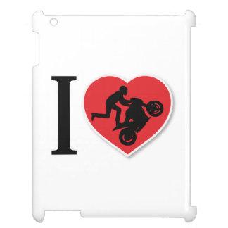 I Heart Motorcycle Wheelies Case For The iPad