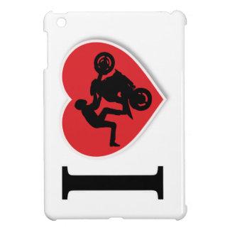 I Heart Motorcycle Wheelies iPad Mini Covers