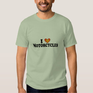 I (heart) Motorcycles - Lite Multi-Products Tee Shirt