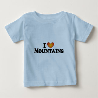 I (heart) Mountains - Lite Products Baby T-Shirt
