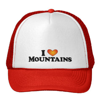 I (heart) Mountains - Lite Products Hats
