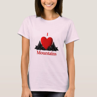 I Heart Mountains T-Shirt