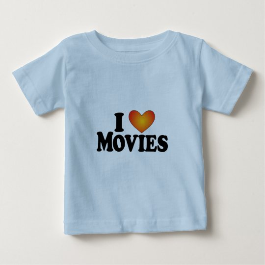 I (heart) Movies - Lite Multi-Products Baby T-Shirt