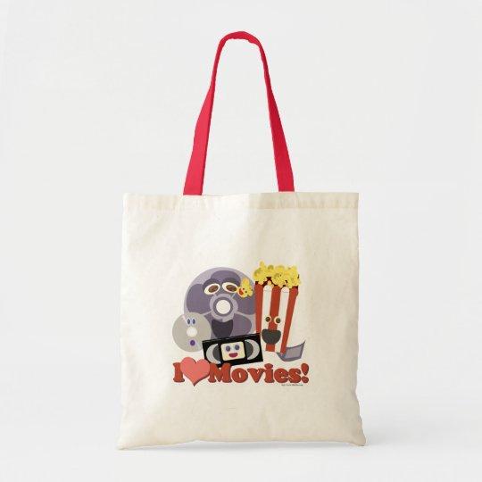 I Heart Movies! Tote Bag