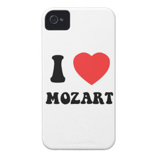 I Heart Mozart iPhone 4 Cover