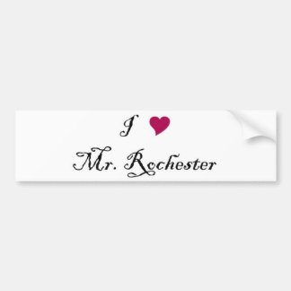 I Heart Mr. Rochester bumper sticker