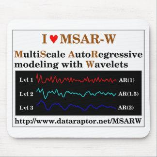 I heart MSAR-W Mousepad