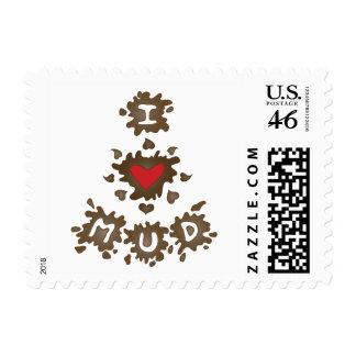 I Heart Mud Stamp