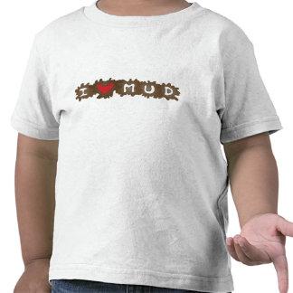 I Heart Mud Tee Shirts