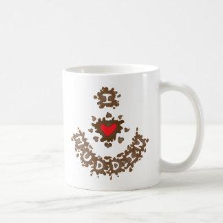 I Heart Muddin Coffee Mugs