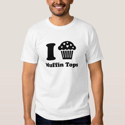 i heart muffin tops t shirt zazzle