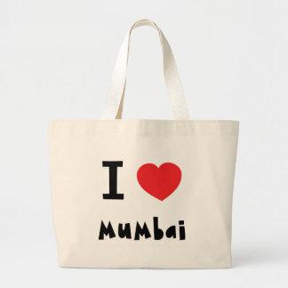 I heart Mumbai Bombay Canvas Bag