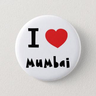 I heart Mumbai / Bombay Button