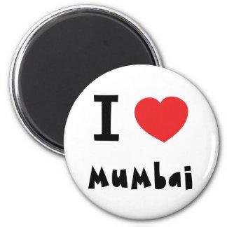 I heart Mumbai / Bombay Refrigerator Magnet