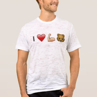 'i heart muscle bears' T-Shirt