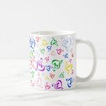 I heart Music Coffee Mugs