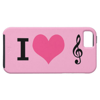 I Heart Music iPhone 5 case