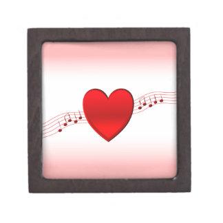 I Heart Music Jewelry Box